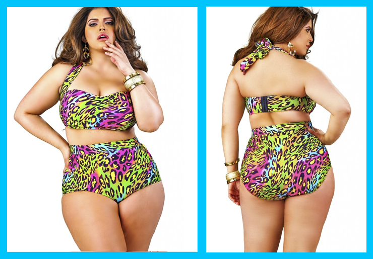 moda-praia-plus-size-2015-animal-print